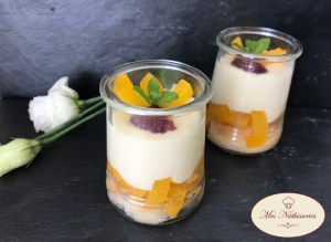 Tiramisu aux fruits