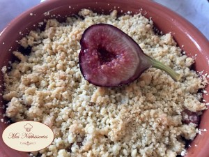 Crumble Pommes figues