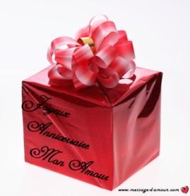 cadeau d'anniversaire