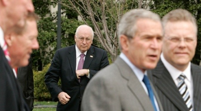 Dick Cheney swears by the pocket organ 9000 (now with Bluetooth(R)!)