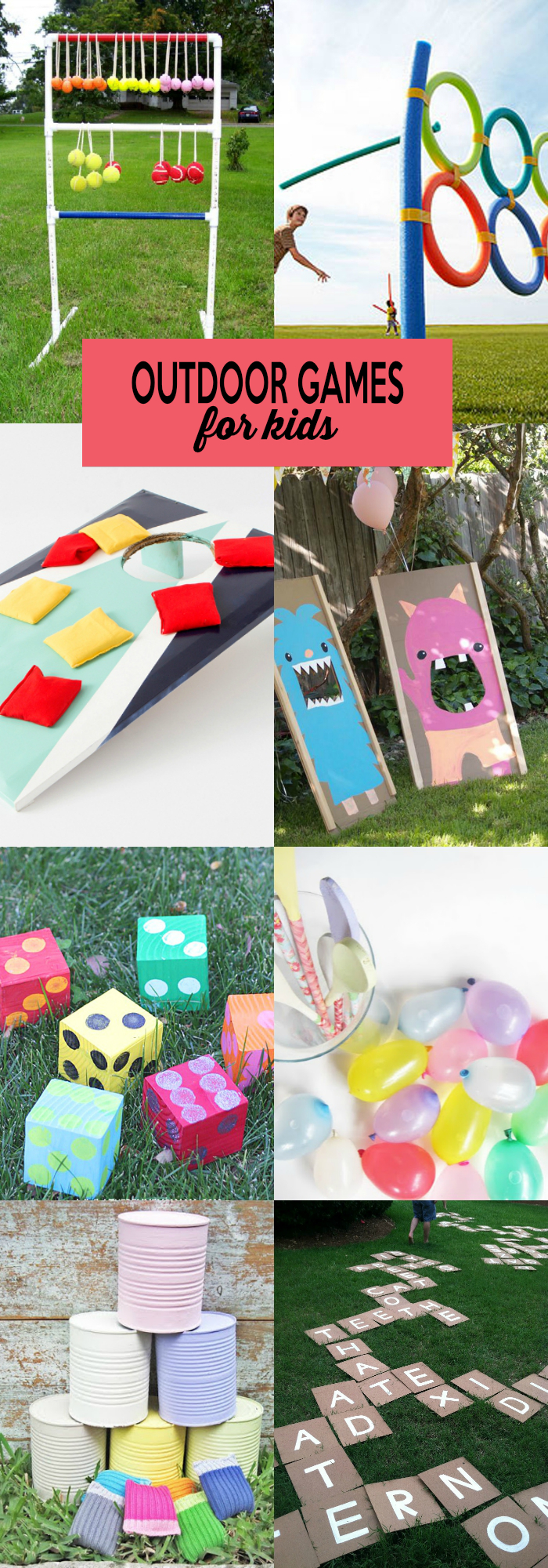 25 outdoor games for kids for Outdoor crafts for camping