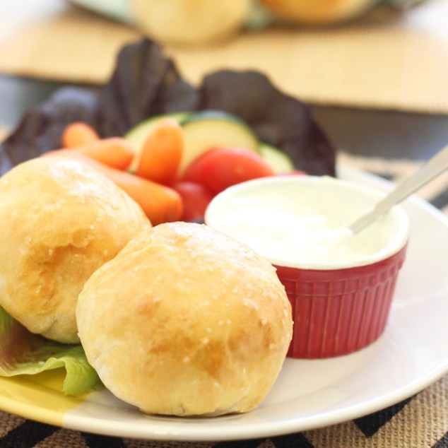RHODES CHEESY RANCH CHICKEN ROLLS