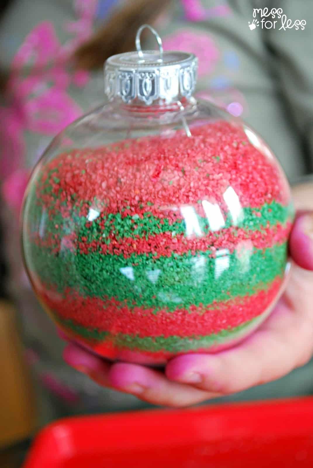 homemade christmas ornament recipe