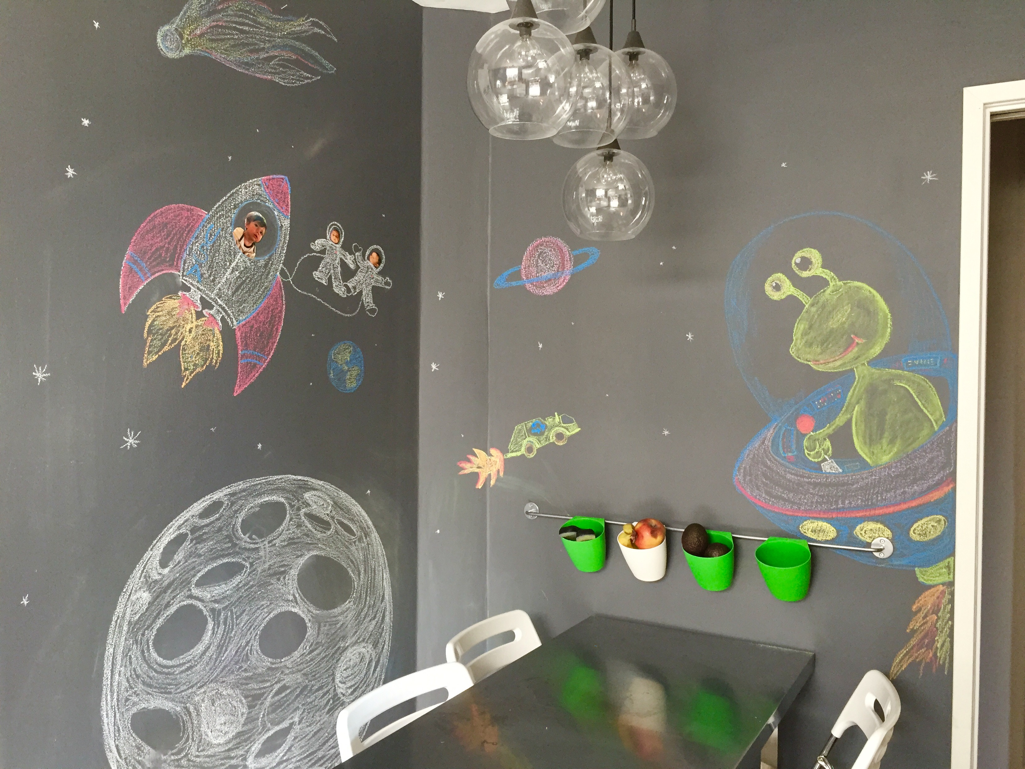 And Remember, No Room Or Nook Is Off Limits, Just Chalk It Up!