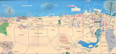 DUBAI MAP - Letters & Maps