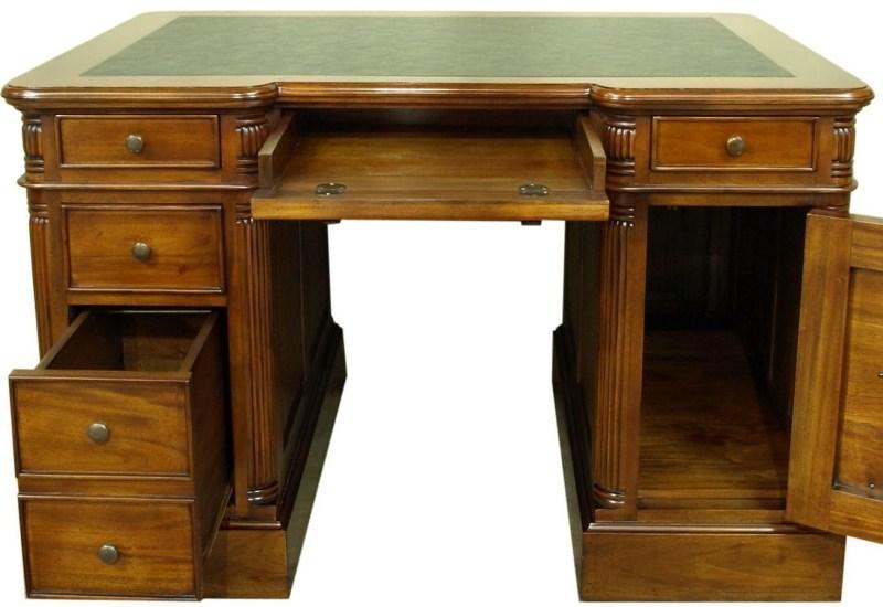 Large Of Solid Wood Desk