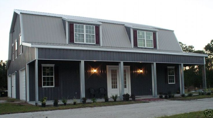 Steel Metal Home Building Kit Of 3500 Sq. Ft. For $36,995