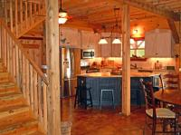 Country Barn Home Kit w/ Open Porch (9 Pictures) | Metal ...
