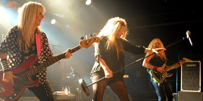 Vixen live in Barcelona, 27/Sep/2014