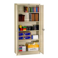 Tennsco, 7818RH, 7824RH, Deluxe Storage Cabinet, Recessed