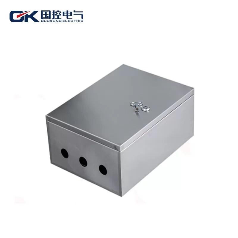 Three Holes Stainless Steel Distribution Box Metal DB Box High