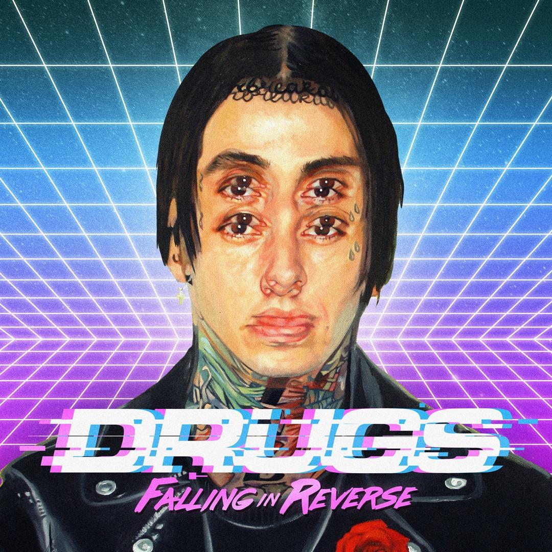 Falling In Reverse Wallpaper Hd Falling In Reverse Premiere Drugs Music Video Featuring