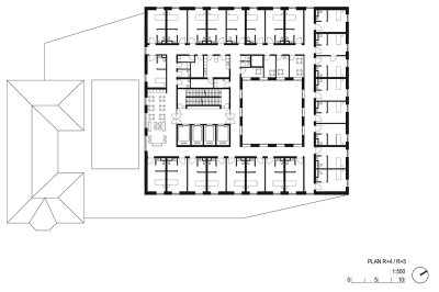 Residential care-home for the elderly by AZC. | METALOCUS