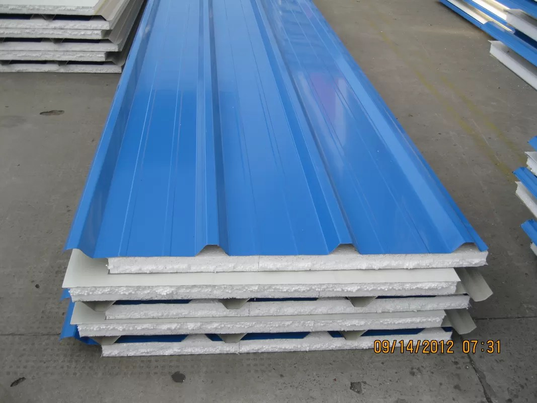 Insulation Eps Roof Sandwich Panel 40mm Thickness For