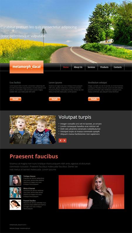 Open Source Website Templates | Sample CV Resume
