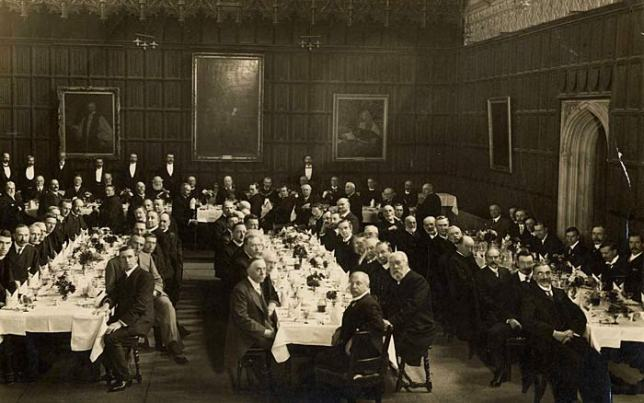 Dinner in King's College Hall