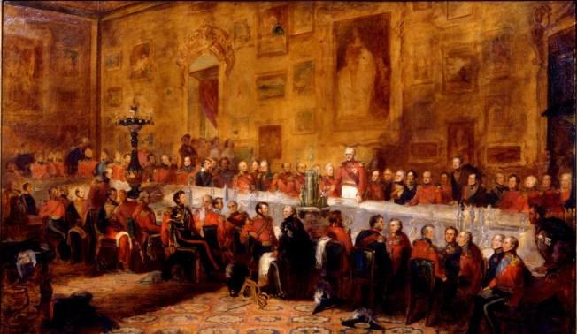 Waterloo Banquet, 1836 by William Salter