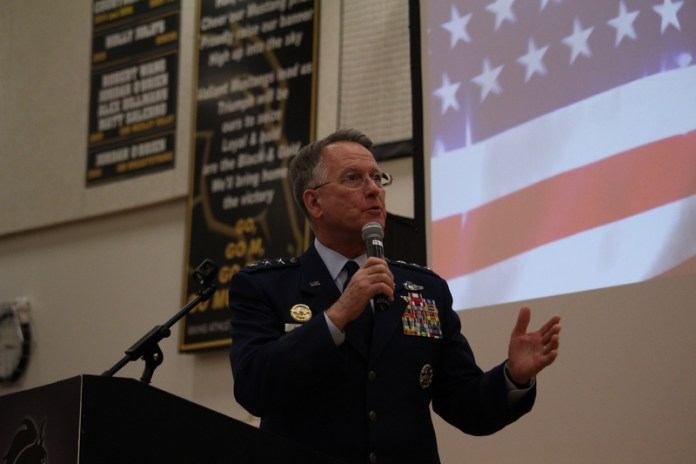 ... military service with annual Veterans Day celebration | Metea Media