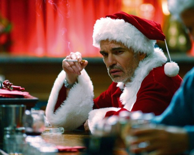 Billy Bob Thornton as Bad Santa. BFI Christmas season, part of London Film events