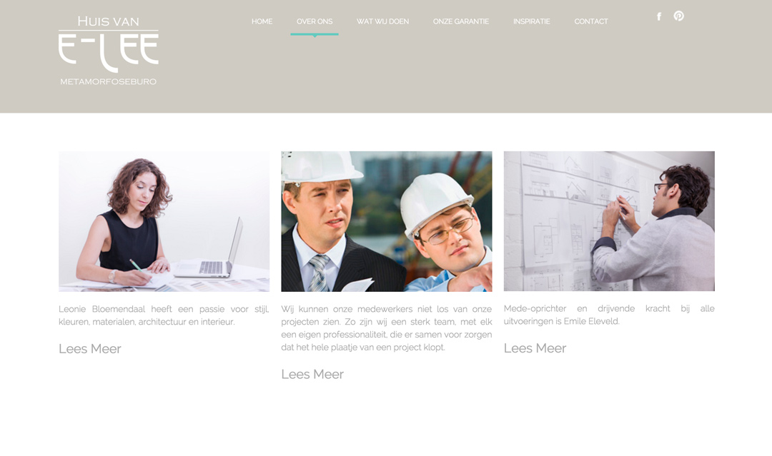 Foto's voor de website van E-Lee. Het 'Huis van E-Lee' realiseert een bouwkundige metamorfose van de bestaande woning. Kijk op www.e-lee.nl voor meer informatie.