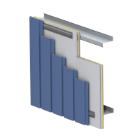 HPCI Barrier Wall Panel - Metl-Span, Insulated Wall ...