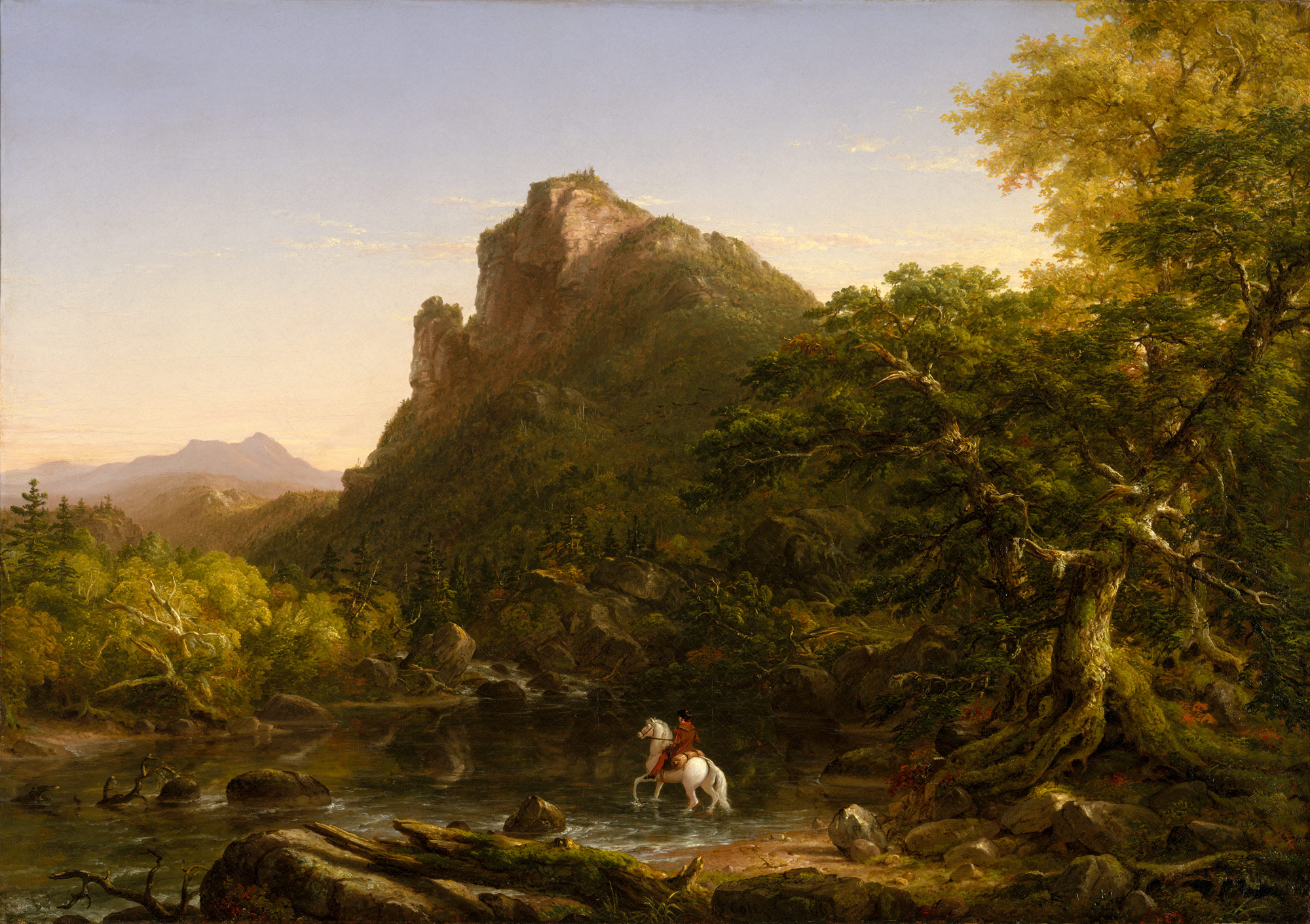 Early Fall Wallpaper The Mountain Ford Thomas Cole 15 30 63 Work Of Art