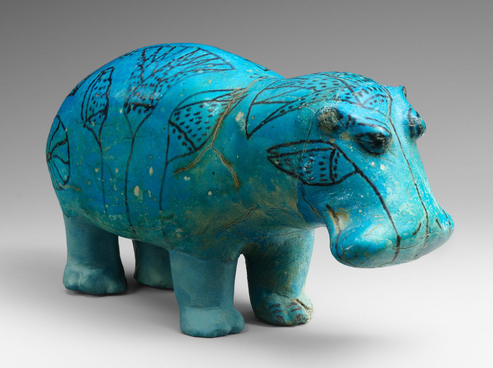 Hippopotamus William Work Of Art Heilbrunn