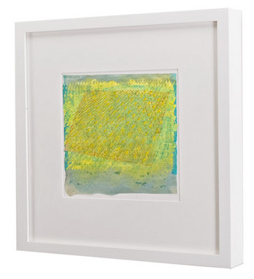 CUSTOM PICTURE FRAMES for works on paper Metropolitan Picture Framing - green photo frame