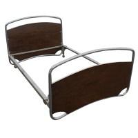 Vintage PEL Machine Age Art Deco Bed Frame