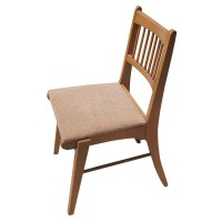 Vintage Mid Century Modern Wood Side Chair | eBay