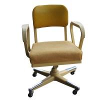 Vintage Industrial Age Royalmetal Desk Chair | eBay