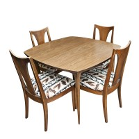 Vintage Mid Century Dining Table and Chairs | eBay
