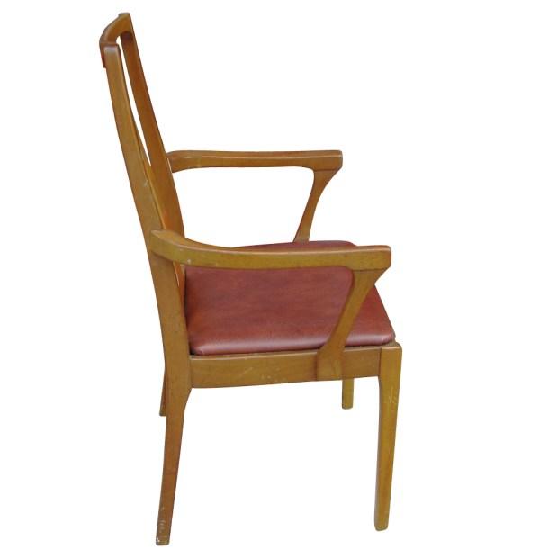 6 danish mid century modern dining chairs