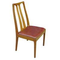 6 Danish Mid Century Modern Dining Chairs | eBay