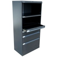 Knoll Metal Lateral File Cabinet | eBay