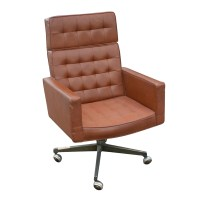 Metro Retro Furniture : Knoll Vincent Cafiero Leather ...