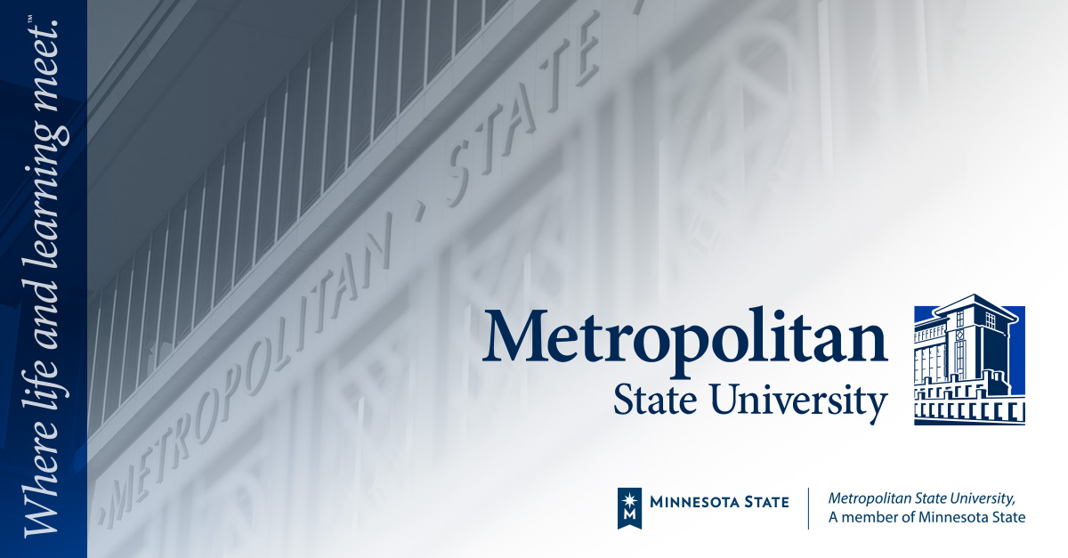 An affordable, quality education Metropolitan State University