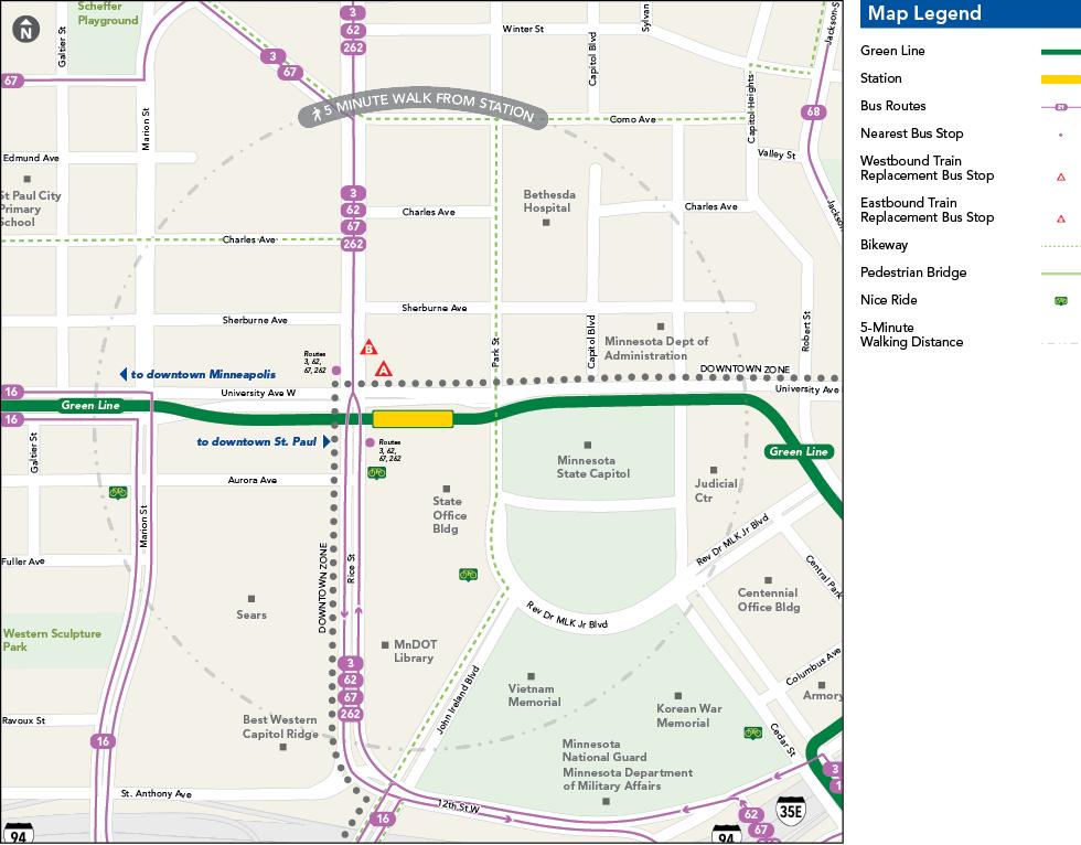Capitol/Rice Street Station - Metro Transit