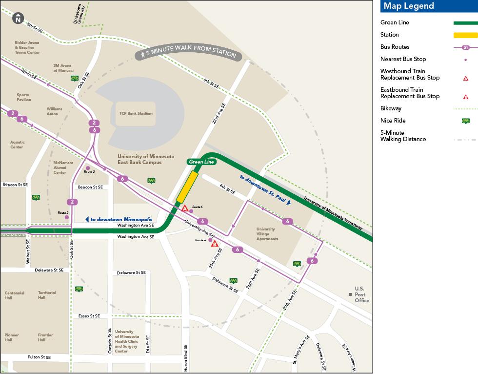 Stadium Village Station - Metro Transit