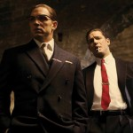 Legend: Tom Hardy as the Kray twins - Photo: Greg Williams/Studiocanal/PA Wire