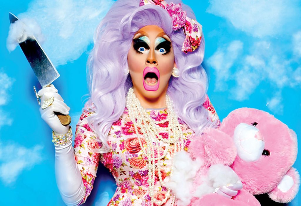 Two Girls Wallpaper Review Trixie Mattel S Quot Two Birds Quot Metro Weekly