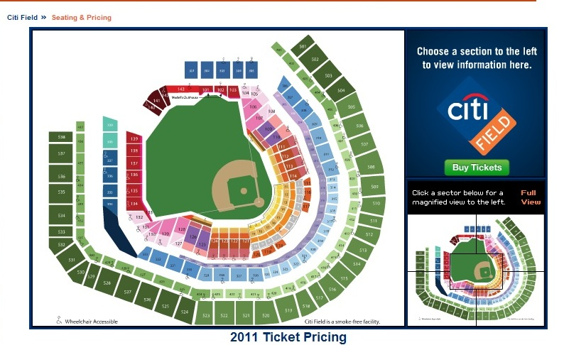 citi field seat map Awesome Home