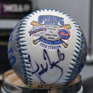 Mets Opening Day 2000 baseball