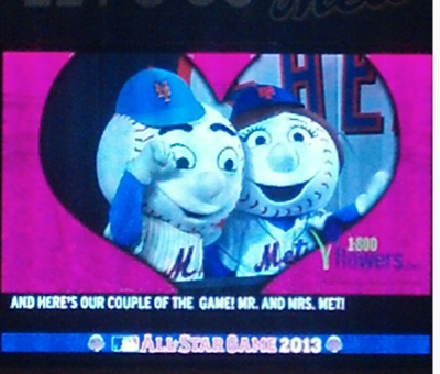 mr. met and mrs. met