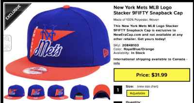 mets stacker cap