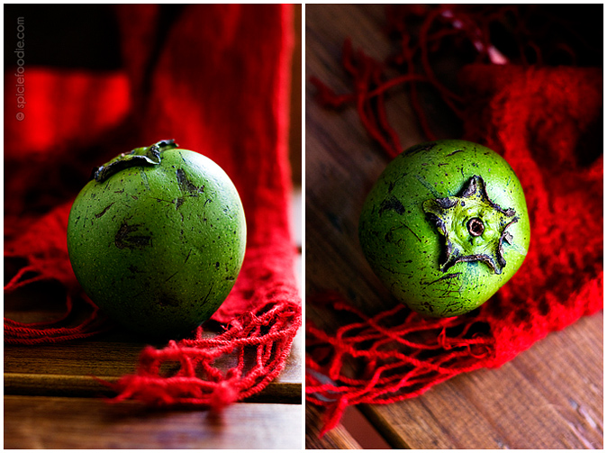 Sapote Negro or Black Sapote | #mexico #fruit #sapote #blacksapote