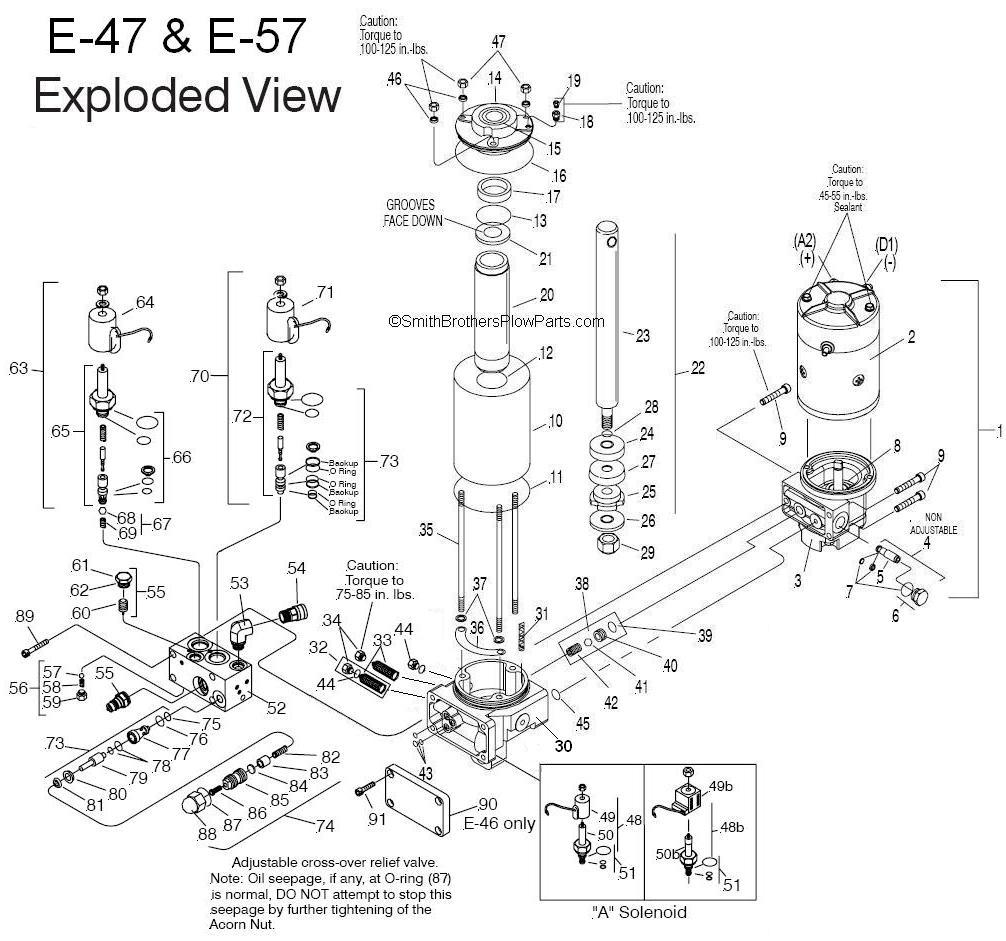 myers e47 pump wiring diagrams