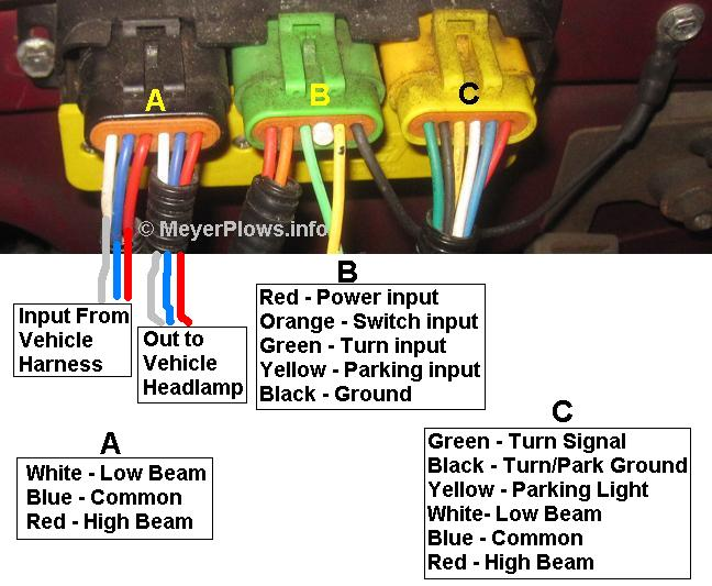 Meyers Snow Plow Wiring Diagram Wiring Schematic Diagram
