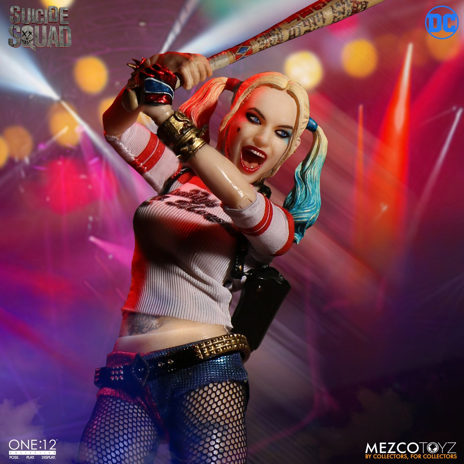 Black And Orange Wallpaper One 12 Collective Suicide Squad Harley Quinn Mezco Toyz