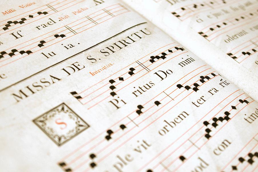 History of Music Notation - evolution, printing, specialisation and
